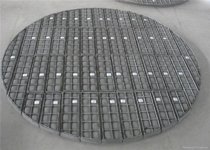 Stainless Steel Wire Mesh Panels Knitted Demister Pads Gas And Liquid Separation
