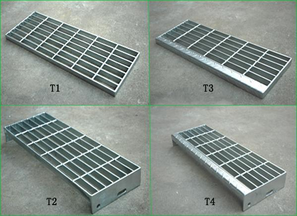 Stair Treads Platform Floor Steel Grating Easy Clean Install And Durable