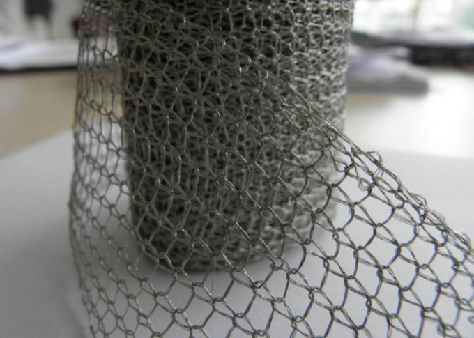 Mesh Pad Type Wire Mesh Demister Pad , Air Filter Mesh Anti Corrosion