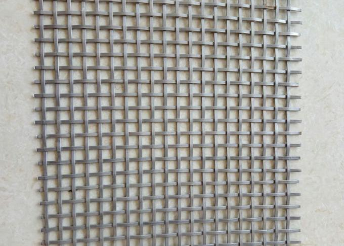 Environmental Decorative Flat Wire Mesh High - End Interior And Exterior Decoration