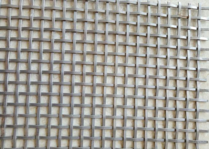 "Fandango anti rust stainless steel 36""x48""   decorative wire mesh woven mesh reflective no fade"