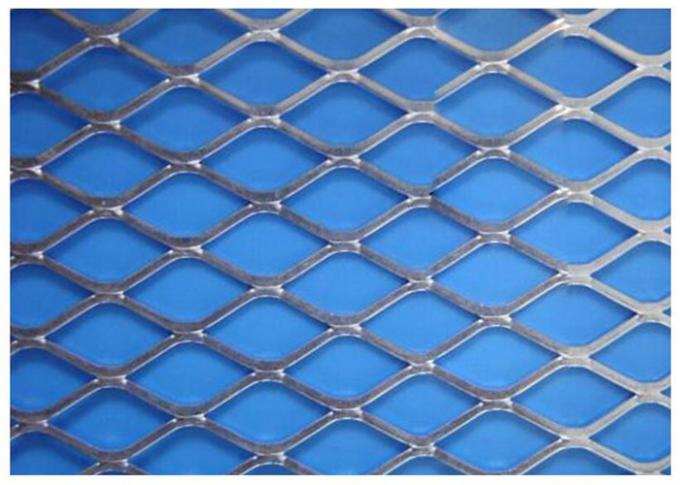 Rustless Aluminum Wire Mesh Punched Weaving For Mechanical Equipment
