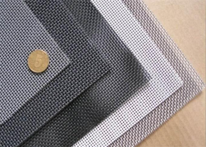 Alkali - Resistant Stainless Steel Insect Screen Twill Weave Smooth Surface