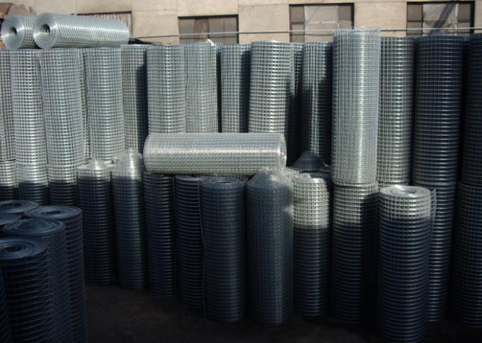 Thin Welded Wire Cloth Roll Type , Galvanized Stainless Steel Weld Mesh