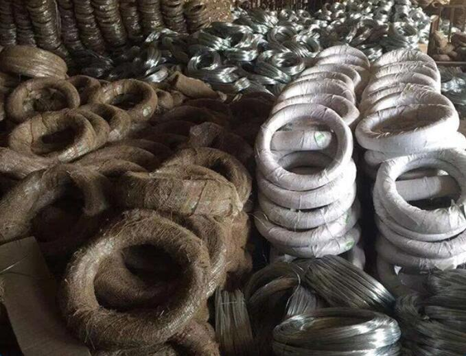 0.7Mm 22# GI Tie Wire Electric Galvanized Binding Wire , Galvanized Iron Wire