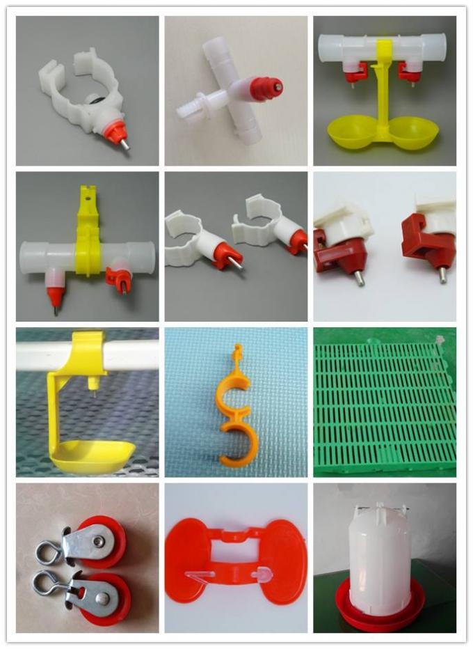 Anti Leak Ball Valve / Screw Type Chicken Nipple Drinker For Poultry Equipment