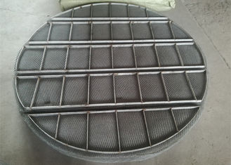 China Stainless Steel Mesh Sheet / Mist Eliminators Mesh Pads Alloy Material supplier
