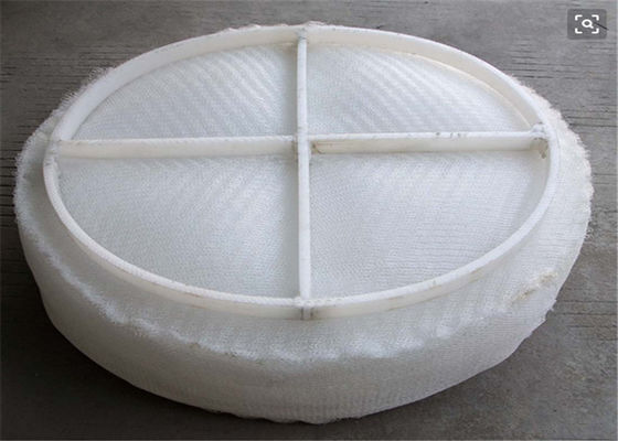 China Customized Knit Round Wire Mesh Demister Pad For Vapor - Liquid Filtration supplier
