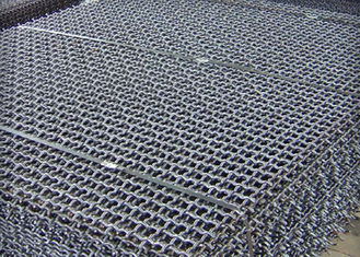 China Uniform Square Crimped Wire Mesh , Mining Screen Mesh Corrosion Resistance supplier