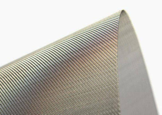 China Dutch Weave Stainless Steel Wire Mesh Anti Rust With Excellent Heat Resisting supplier