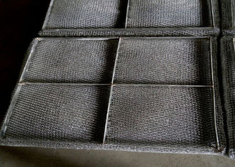 China Knitted SS Wire Mesh Mist Eliminator High Misting Efficiency And Embedded Type supplier