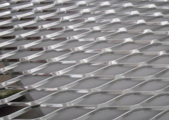 China Prevent Clogging Drains Aluminum Expanded Metal Mesh For Roof Drainage Systems supplier