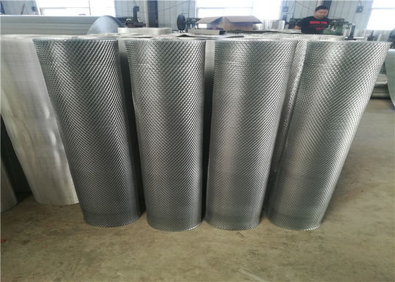 China Plain Weave Aluminum Wire Mesh / Expanded Metal Panels For Wall Claddings supplier