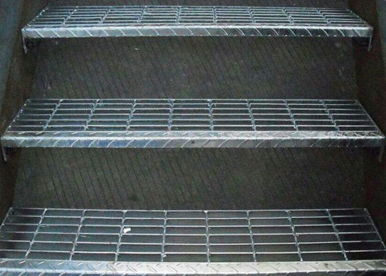 China Stair Treads Platform Floor Steel Grating Easy Clean Install And Durable supplier