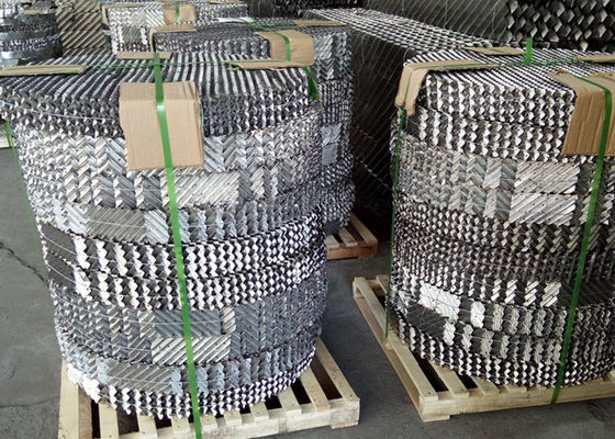 China Gauze Metal Structured Packing High Efficiency With Small Resistance supplier