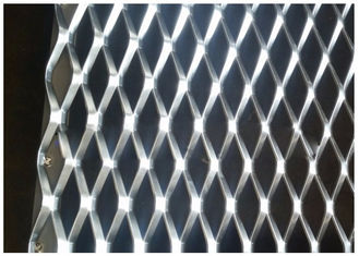 China Rustless Aluminum Wire Mesh Punched Weaving For Mechanical Equipment supplier