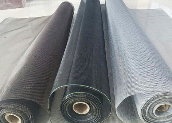 PVC Coated Fiberglass Anti Insect Netting Excellent Weather Resistance