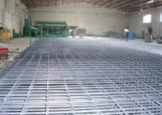 China Durable Concrete Reinforcement Wire Mesh High Strength For Swimming Pool Building supplier