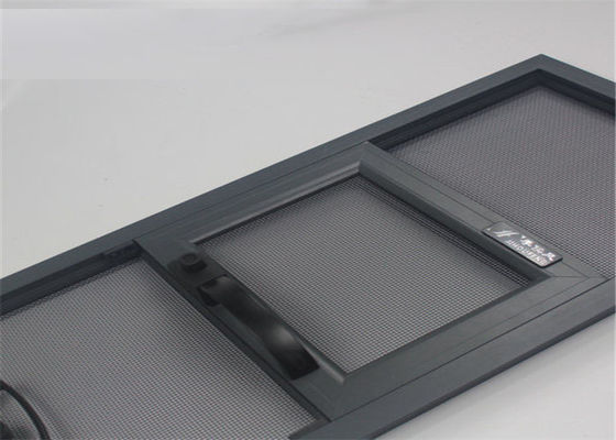 China Plastic Coated Security Window Screens / Anti Theft Mesh High Impact Strength supplier