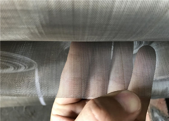 China 0.3mm Diameter Dutch Weave Stainless Steel Woven Screen  for Insect Screen supplier