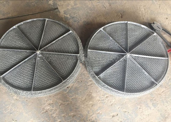China Stainless Steel Mesh / Wire Mesh Demister Light Weight Easy Maintenance supplier