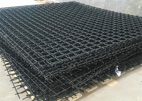 China Square Hole Mining Quarry Screen Mesh Wearable And High Temperature - Proof supplier
