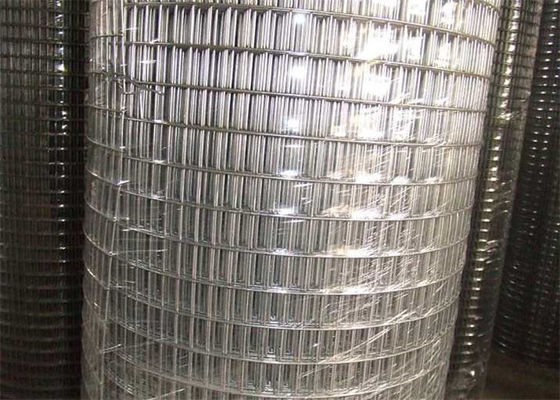China Custom 1X1 Galvanized Welded Wire Mesh For Construction Usage / Poultry Wire Fence supplier