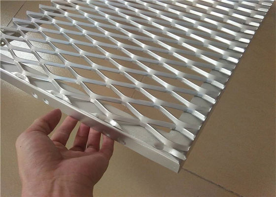 China Expanded Aluminum Wire Mesh , Metal Wire Mesh For Building Wall Materials supplier