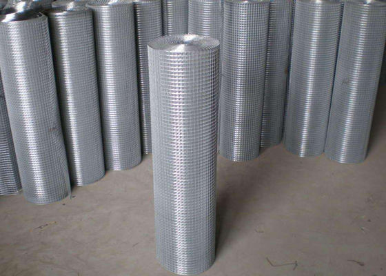 China Thin Welded Wire Cloth Roll Type , Galvanized Stainless Steel Weld Mesh supplier