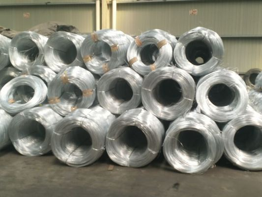 China Hot Dip Galvanized Iron Wire For Construction High Zinc Hot Galvanized Wire Round supplier