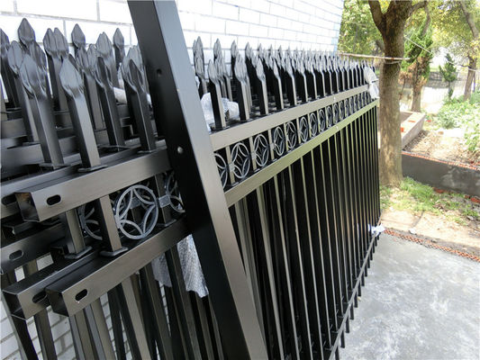 China Aluminum Tube Fence Community Fence Zinc Steel Fence Villa Fence supplier