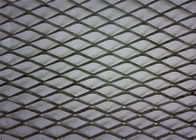 China PVC Coated Diamond Aluminium Expanded Mesh With Modern House Design Wallpaper factory