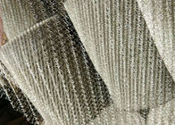 China 316L Knitted Stainless Steel Wire Netting High Acid And Alkali Resistance factory