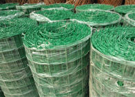 China Green PVC Coated Welded Wire Mesh Panels / Plain Weave Mesh For Railings factory