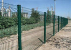 China 50x200mm Welded Bending Mesh Fence Panels Protecting Application pvc Coated Or Galvanized factory