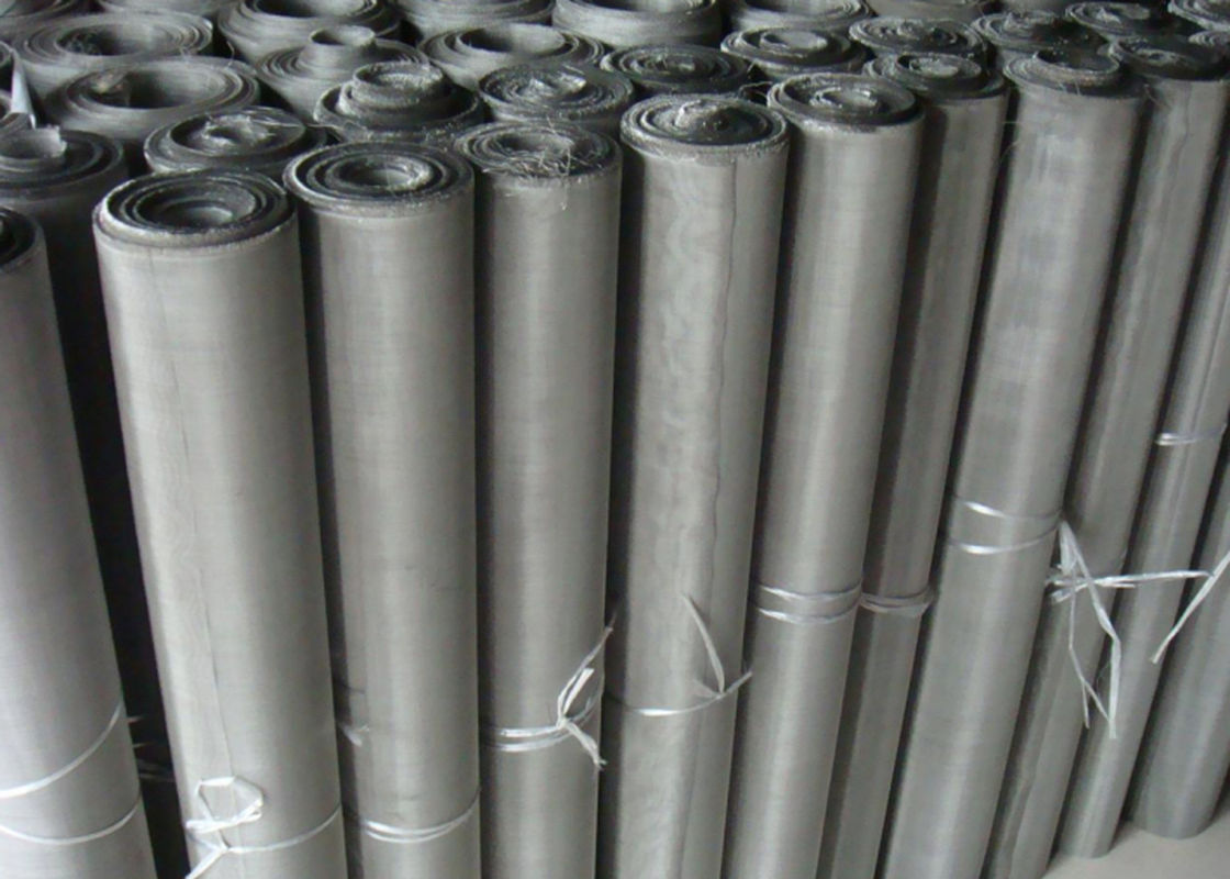 Standard Wire Diameter Stainless Steel Wire Mesh 200 Micron ...