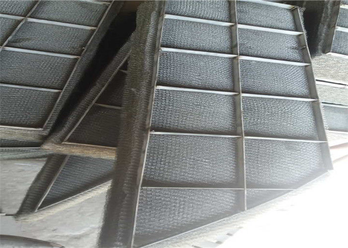 Stainless Steel Wire Mesh Panels Knitted Demister Pads Gas And ...