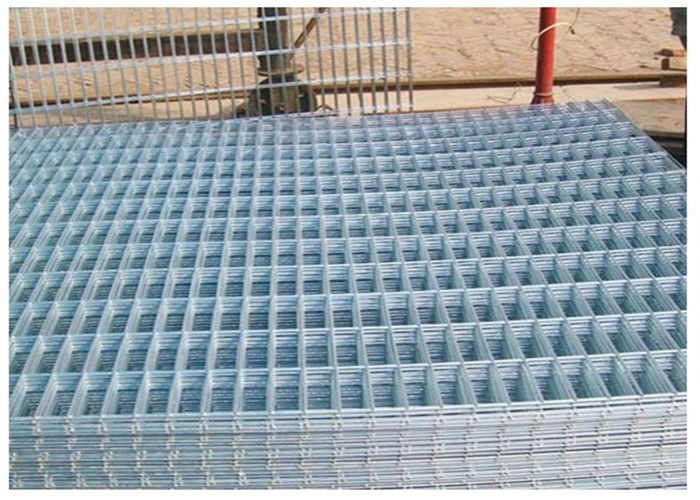 Thick Coating Square Flat Galvanized Sheets , Welded Wire Mesh ...
