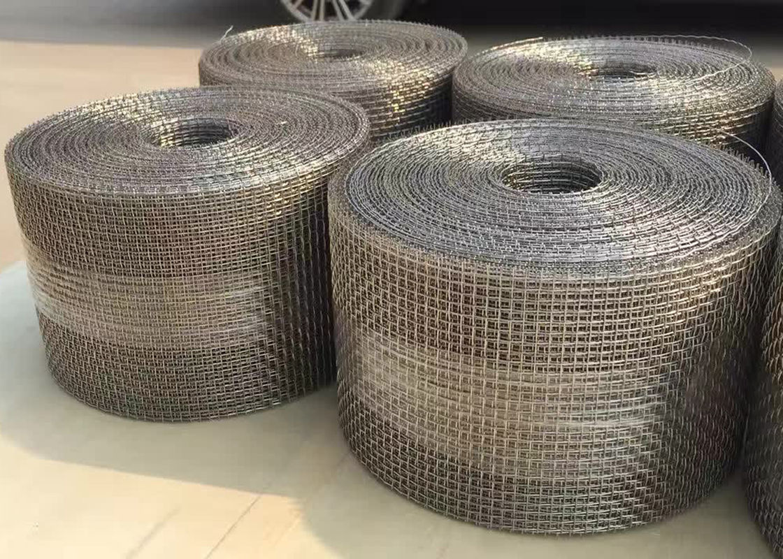 Galvanized Ginning Network Crimped Wire Mesh For Vibrating Screen Filter