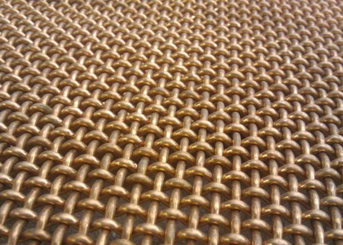 Filter brass red copper wire mesh solid structure and