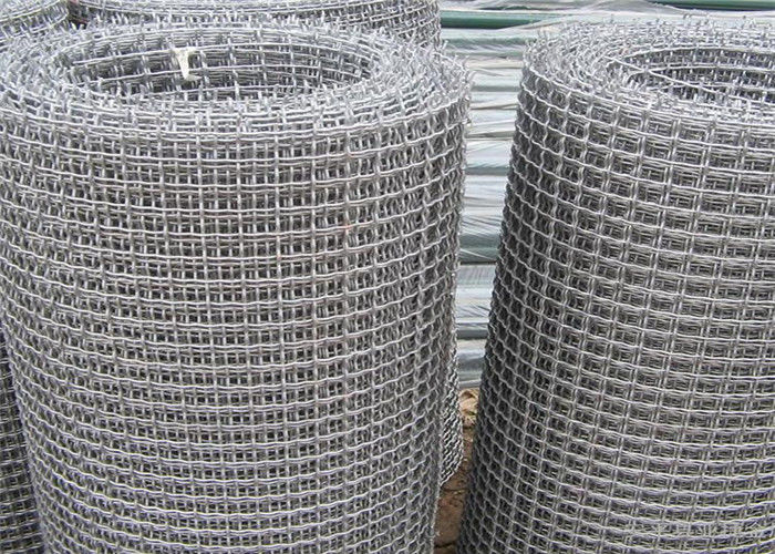 Custom stainless steel crimped wire mesh for filter