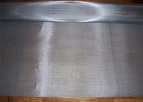 Payment Protection Stainless Steel Wire Mesh Twill Weave 30 Meter Roll Length