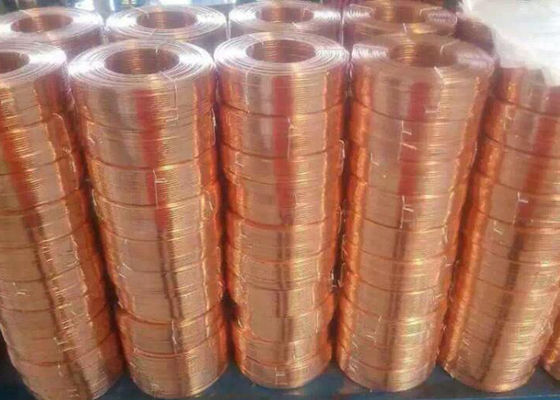 Durable Flat Bare Copper Wire , Carton Special Copper Electrical Wire Mini 1 Roll