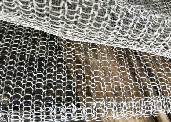 High Filtering Performance Knitted Wire Mesh Teflon And Stainless Steel 316