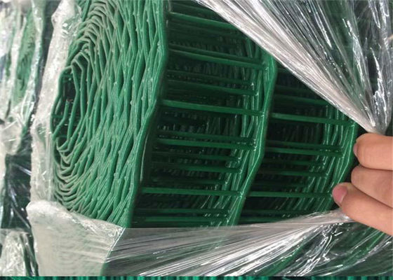 China Guardrail Holland Welded Wire Mesh Anti Corrosion With Dutch Weave Style factory