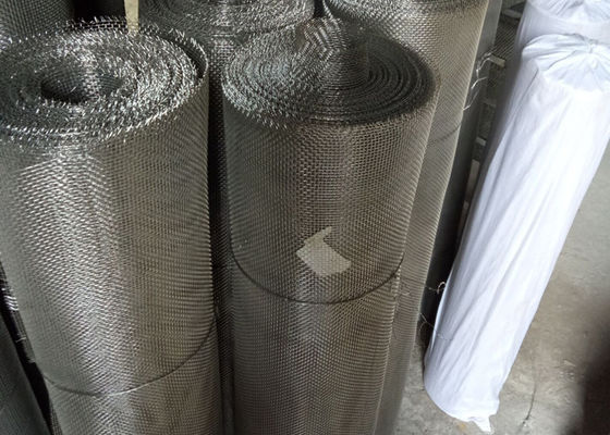 0.15 Dia Stainless Steel Metal Structured Packing Net 50 Mesh 60 Mesh 80 Mesh