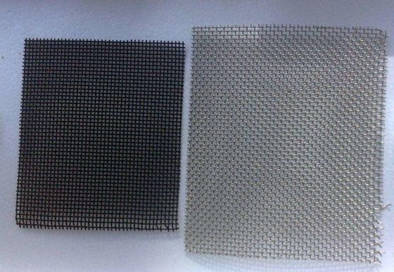 Custom Size 304 316 Stainless Steel Insect Screen , Window Wire Mesh Rolls