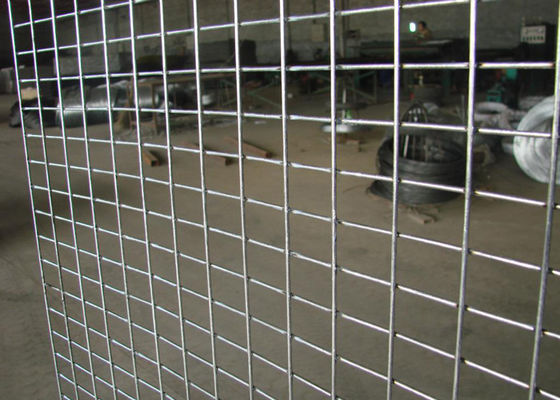 Construction Engineering Weld Mesh Sheets , Welded Steel Mesh Pieces Any Size