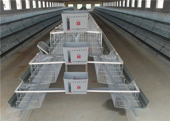 2.15*2.3*1.9 Size Chicken Battery Cage Poultry Farming , 3-5 Layers Chicken Farm Cage