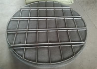 Stainless Steel Mesh Sheet / Mist Eliminators Mesh Pads Alloy Material